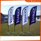 Bannière d'impression personnalisé en polyester tricoté Swooper Beach Flag