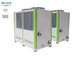 Der 120 Tonnen-Träger-Luft kühlte Wasser-Kühler im Tunesien-R410A für Ventilator-Ring-Kühlsystem ab