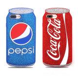熱くおかしいコークスのiPhone 6/6s/7/7plusのための柔らかいシリコーンの電話箱