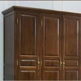 Moderne neue Entwurfs-festes Holz-Garderobe für Schlafzimmer-Gebrauch (AS842)