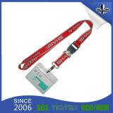 Verkauf-Marken-kundenspezifischer Stutzen-Polyester-Faser-Abzuglinien Identifikation-Kartenhalter