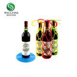La conception créative du vin en silicone Manchon filet SAC SAC bon pour transporter