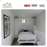 La estructura de acero rápido de construir la casa móvil prefabricados Sandwich Home para aplicaciones residenciales