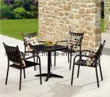 /Rattan ao ar livre/cadeira & tabela do alumínio de molde da mobília hotel do jardim/Patio/ajustou-se (HS 3003C&HS 7126DT)