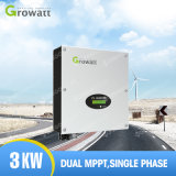 China Growatt auf Sonnenenergie-Inverter 3kw des Rasterfeld-3000W