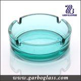 """4 het """" Ronde Donkere Zwarte Asbakje van het Glas (GB2031)"""