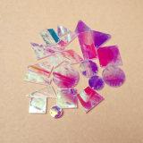 De Steen van de Spiegel van de Kleuren van het Effect van ab naait op de AcrylSpiegel van het Bergkristal (effect sm-ab)
