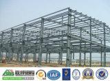 La costruzione prefabbricata del pannello a sandwich/ha prefabbricato il magazzino della struttura d'acciaio