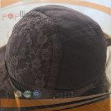 Peruca ondulada longa da cor de Brown (PPG-l-0856)