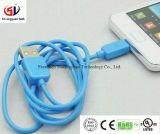 Цветастый кабель данным по USB Micro 3.0 PVC для iPhone/телефона