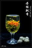 咲く緑茶(花の茶、芸術の茶) EUの標準