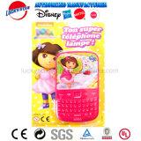 Het nieuwe Stuk speelgoed van de Vorm van de Telefoon van de Jonge geitjes van het Ontwerp Mobiele met Licht