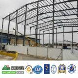 Oficina profissional do aço do projeto do baixo custo