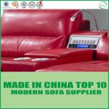 Des meubles en bambou canapé en cuir véritable ensemble mobilier de salle de séjour