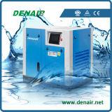 물에 의하여 기름을 바르는 전기 Oilless 회전하는 나사 공기 압축기 공급자