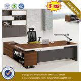 Moderner hölzerner Büro-Möbel-schwarze Walnuss-leitende Stellung-Tisch (UL-MFC391)