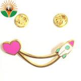 Corazón promocionales personalizados Pin como clave para regalo (xd-09017)