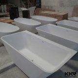 Baignoire autonome de résine de meubles en pierre de salle de bains