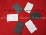 黒いカラージルコニアの陶磁器シート