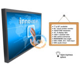 Monitor del LCD de la pantalla táctil de 55 pulgadas con el VGA del USB HDMI DVI entrado (MW-551MBT)