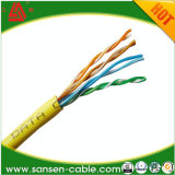 Le câble 1000 FT. Cat5e CCA câble UTP LSZH - Bleu