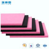 écrans antibruits de fibre de polyester d'épaisseur de 4.5mm, panneau ignifuge pour le mur et plafonds