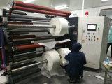 Duplex película electrónica 1700 Rollos de alta precisión de la máquina rebobinadora cortadora longitudinal