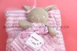 Couverture de bébé avec la forme de corail d'animal d'ouatine de jouet