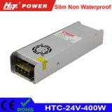 24V 16A 400W LED Transformador ac/dc de alimentación de conmutación HTC