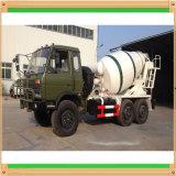 12000liters 육군 녹색 구체 믹서에 Dongfeng 8000liters