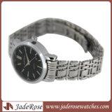 Montre-bracelet analogique de femmes de quartz de sport de luxe d'acier inoxydable de mode