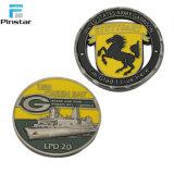 Comercio al por mayor costumbre antigua moneda de metal 3D
