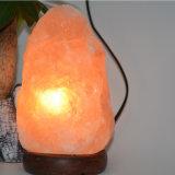 목제 기본적인 자연적인 히말라야 암염 램프