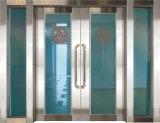 Puertas cortafuego con los paneles de cristal
