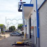 Única altura máxima da plataforma de trabalho aéreo do mastro da plataforma (10m)