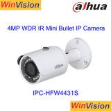 De China de la mejor Dahua seguridad 4MP HD de la marca de fábrica mini pequeña Poe IR cámara al aire libre Ipc-Hfw4431s del CCTV del IP
