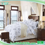 De comfortabele LuxeReeks van het Blad van de Katoenen Druk van het Hotel