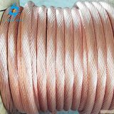 50mm2 70mm2 disque appelée Conducteur en cuivre nu recuit le cuivre du fil de masse de la terre