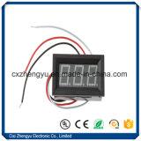 """Вольтметр цифровой индикации DC 0-100.0V СИД V27D 0.56 """" с 3 проводами"""