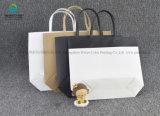 Custom твердых бумагу отпечатанной мешки для новой подарочной упаковки бесплатные образцы