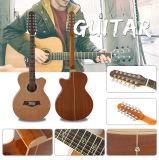 Guitarra acústica al por mayor de 12 cadenas de la fábrica de Aiersi