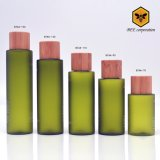 Frasco de vidro de embalagem cosméticos redonda para a Loção (BTAA-70)
