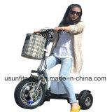 Tricycle électrique de scooter de vélo électrique bon marché de moto pour des gens