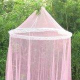 クイーンサイズベッドのための蚊帳のおおいピンク