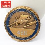 昇進のギフトの習慣米国の販売のための軍の金属3Dの柔らかいエナメルの金の記念品の挑戦記念する硬貨