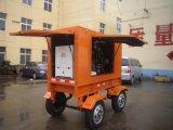 Quatre groupe électrogène diesel à faible bruit des roues 50kw pour le propriétaire de la Thaïlande