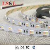Decoración colorida de Chirstmas de la luz del cambio de RGBW+W Ledstrips