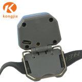 De Navulbare Waterdichte Openlucht MiniKoplamp van de plastic LEIDENE Koplamp van USB