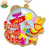 Hot Sale personnalisés Aolly Zinc Médaille d'émail pour Marathon