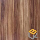 Papel impregnado melamina decorativa de madera del grano para los muebles o puerta del fabricante chino